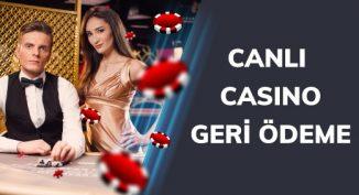 Bahigo canlı casino geri ödeme kampanyası.