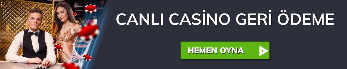 Bahigo canlı casino kampanyası.