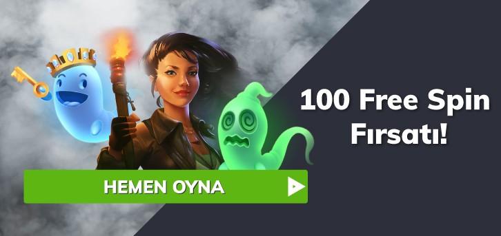 100 free spin bonusu